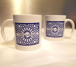 Mugs en céramique Marhaba, bleu roy
