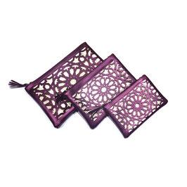 Pochettes Zellij, purple