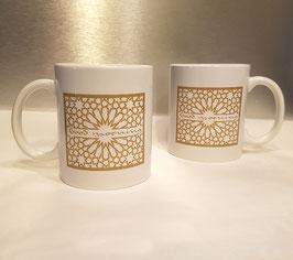Mugs en céramique Good Morning, gold