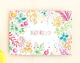 Postkarte Naturkind