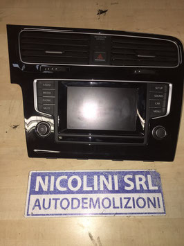 Autoradio 2 Din Touch screen Volkswagen Golf