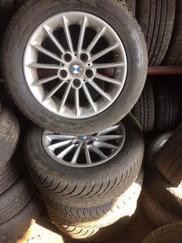 Treno cerchi e pneumatici invernali BMW