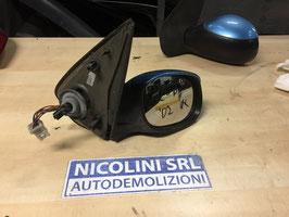 Specchietto elettrico Dx Peugeot 206