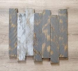 Tableau personnalisable gris foncé poncé
