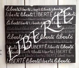 """Tableau personnalisable """"liberté"""""""