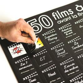 POSTER 50 FILMS A VOIR AVANT LA FIN DU MONDE