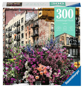 Ravensburger Puzzle - Flowers in New York - 300 Teile
