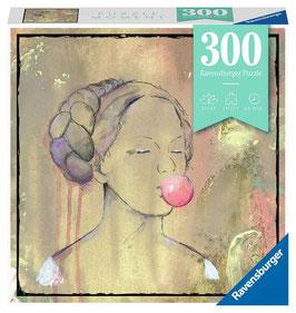 Ravensburger Puzzle - Bubblegumlady - 300 Teile