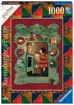 Ravensburger Puzzle - Harry Potter bei der Weasley Familie - 1000 Teile