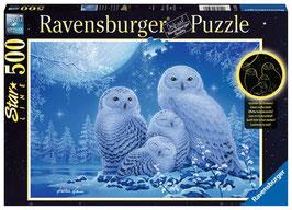 Ravensburger Puzzle - Eulen im Mondschein - 500 Teile