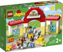 LEGO® DUPLO 10951 Pferdestall und Ponypflege