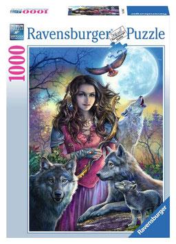 Ravensburger Puzzle - Patronin der Wölfe - 1000 Teile