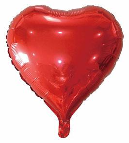 Folienballon Herz verschiedene Farben