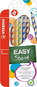 EASYcolors Farbstift 6er für Rechts und Linkshänder