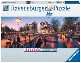 Ravensburger Puzzle - Abend in Amsterdam - 1000 Teile