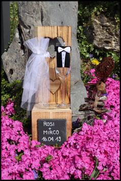 Hochzeit Sektglas