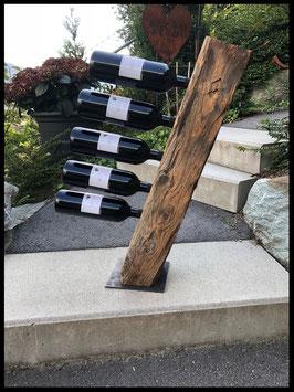 Weinträger Altholz 6er