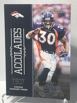 Terrell Davis (Broncos) 2016 Panini Accolades #17