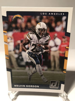 Melvin Gordon (Chargers) 2017 Donruss #149