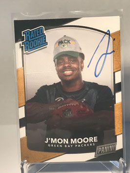 J'Mon Moore (Packers) 2018 Panini Day Rated Rookie Personal Collection #NNo