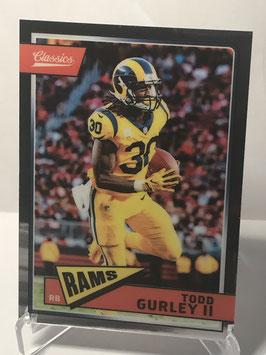 Todd Gurley II (Rams) 2018 Classics Premium #90