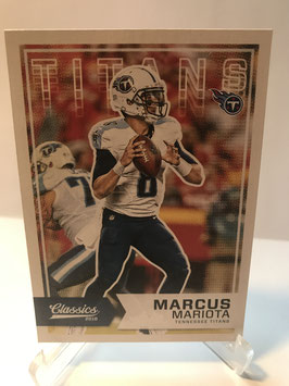 Marcus Mariota (Titans) 2016 Classics #75