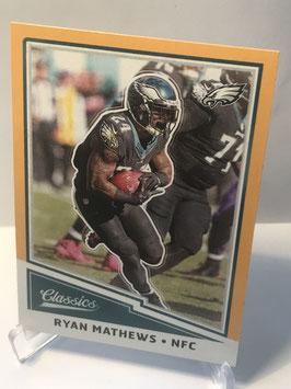 Ryan Mathews (Eagles) 2017 Classics Gold #73