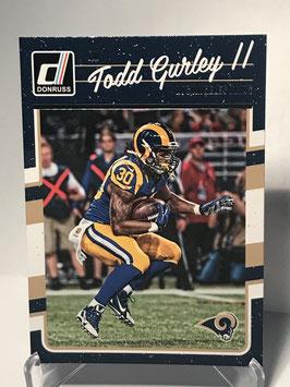 Todd Gurley II (Rams) 2016 Donruss #154