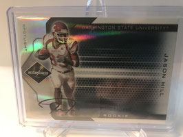 Jason Hill (Washington State/ 49ers) 2007 Limited Phenoms Rookie Autograph Spotlight Platinum #324