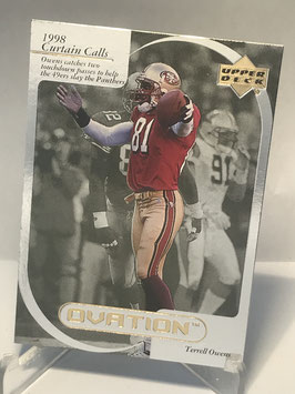Terrell Owens (49ers) 1999 Upper Deck Ovation Curtain Calls #CC16