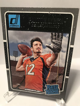 Paxton Lynch (Broncos) 2016 Donruss Rated Rookie #390