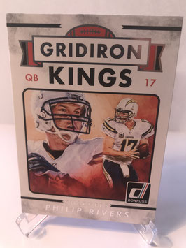 Phillip Rivers (Chargers) 2015 Donruss Gridiron Kings #269