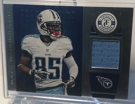 Nate Washington (Titans) 2013 Panini Totally Certified Totally Blue Materials #34