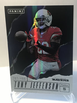 Tony Jefferson (Ravens) 2017 Panini Father's Day #77