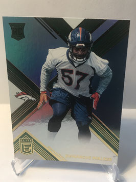 DeMarcus Walker (Broncos) 2017 Donruss Elite Green #137