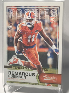 DeMarcus Robinson (Clemson/ Chiefs) 2016 Panini Classics Timeless Tributes Bronze #270