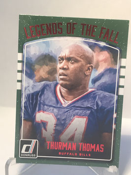 Thurman Thomas (Bills) 2016 Donruss Legends of the Fall Red #16