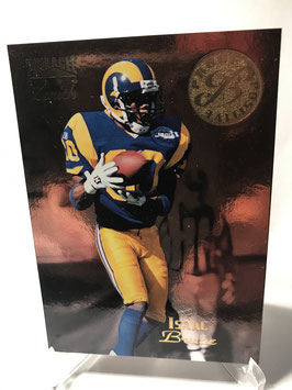 Isaac Bruce (Rams) 1996 Pinnacle Zenith #Z-136