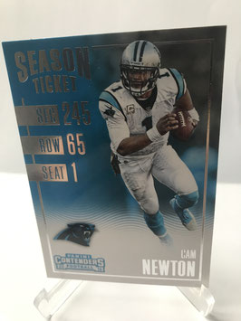 Cam Newton (Panthers) 2016 Contenders #41