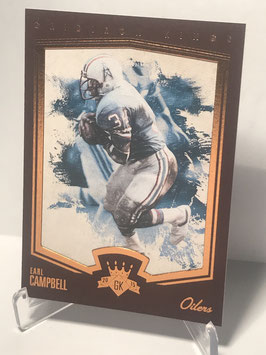 Earl Campbell (Oilers) 2015 Gridiron Kings Limited Lithos #163