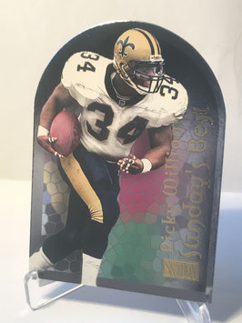 Ricky Williams (Saints) 2000 Skybox Sunday's Best #10 SB