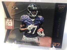 Buck Allen (Ravens) 2015 Donruss Elite RC #47