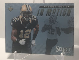 Marques Colston (Saints) 2013 Panini Select In Motion #25