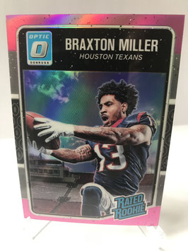 Braxton Miller (Texans) 2016 Donruss Optic Rated Rookie Pink Parallel #153