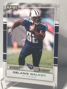 Delanie Walker (Titans) 2017 Playoff Kickoff #89