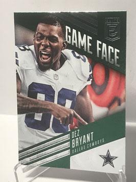 Dez Bryant (Cowboys) 2016 Elite Game Face Green #GF-DB