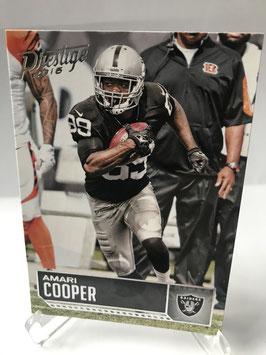 Amari Cooper (Raiders) 2016 Prestige #142