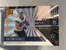 Dalton Schultz (Cowboys) 2018 Panini Unparalleled SHINE #282