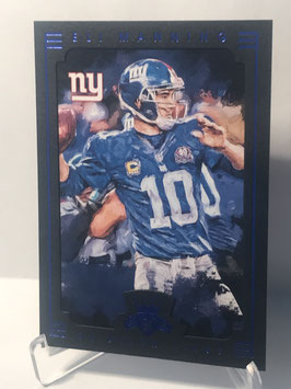 Eli Manning (Giants) 2015 Gridiron Kings Blue Frame #43