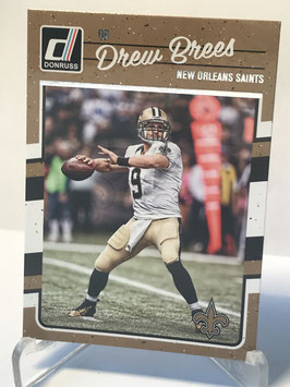 Drew Brees (Saints) 2016 Donruss #189